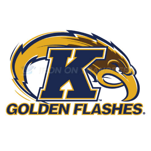 Kent State Golden Flashes Iron-on Stickers (Heat Transfers)NO.4738