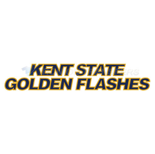 Kent State Golden Flashes Iron-on Stickers (Heat Transfers)NO.4739