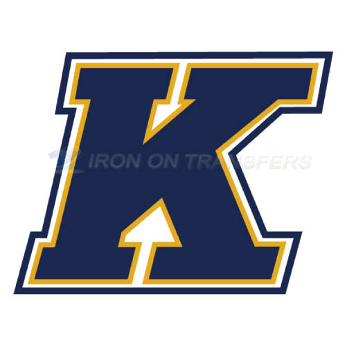 Kent State Golden Flashes Iron-on Stickers (Heat Transfers)NO.4740