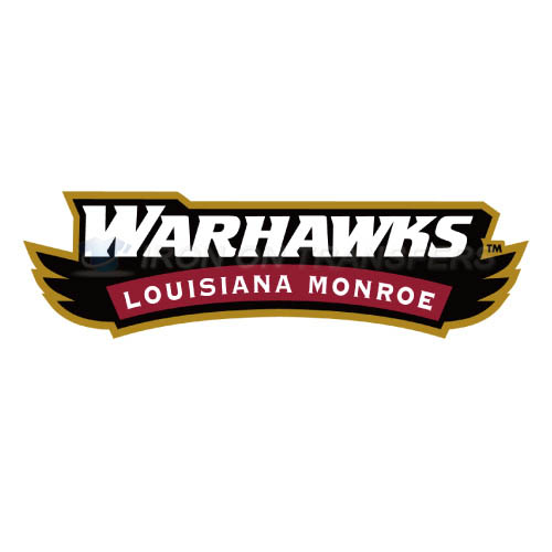 Louisiana Monroe Warhawks Iron-on Stickers (Heat Transfers)NO.4818