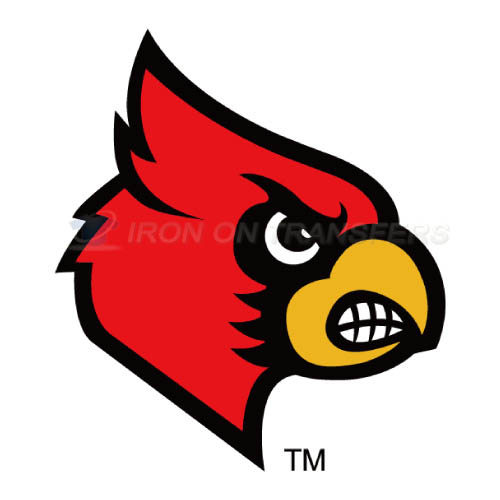 Louisville Cardinals Iron-on Stickers (Heat Transfers)NO.4861