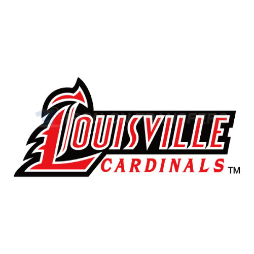Louisville Cardinals Iron-on Stickers (Heat Transfers)NO.4865