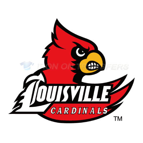 Louisville Cardinals Iron-on Stickers (Heat Transfers)NO.4866