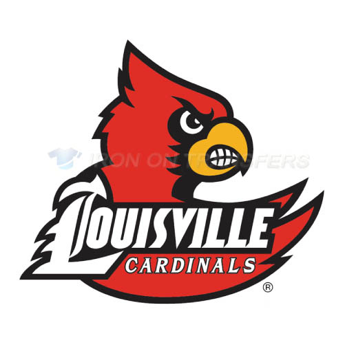 Louisville Cardinals Iron-on Stickers (Heat Transfers)NO.4868