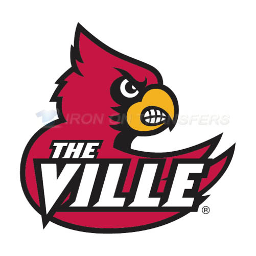 Louisville Cardinals Iron-on Stickers (Heat Transfers)NO.4869