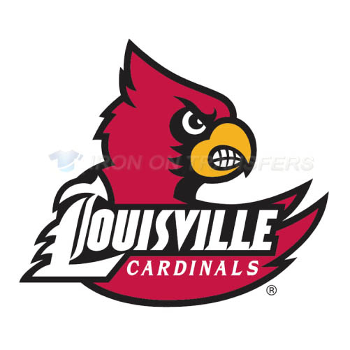 Louisville Cardinals Iron-on Stickers (Heat Transfers)NO.4870