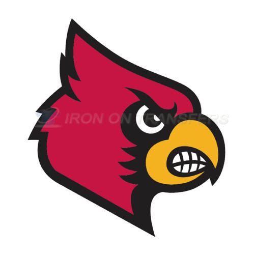 Louisville Cardinals Iron-on Stickers (Heat Transfers)NO.4873