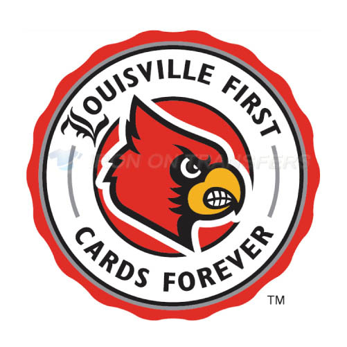 Louisville Cardinals Iron-on Stickers (Heat Transfers)NO.4875