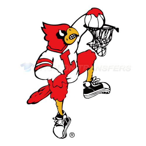 Louisville Cardinals Iron-on Stickers (Heat Transfers)NO.4877