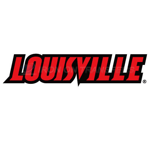 Louisville Cardinals Iron-on Stickers (Heat Transfers)NO.4880
