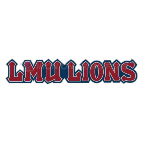 Loyola Marymount Lions Iron-on Stickers (Heat Transfers)NO.4899