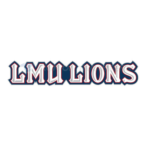Loyola Marymount Lions Iron-on Stickers (Heat Transfers)NO.4900
