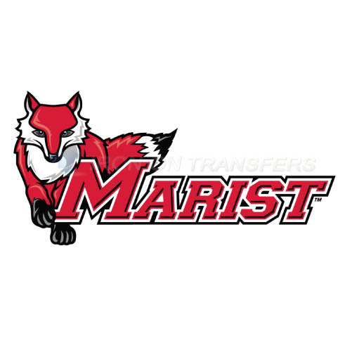 Marist Red Foxes Iron-on Stickers (Heat Transfers)NO.4960