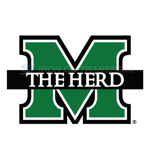 Marshall Thundering Herd Iron-on Stickers (Heat Transfers)NO.4973