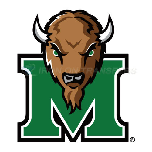 Marshall Thundering Herd Iron-on Stickers (Heat Transfers)NO.4978