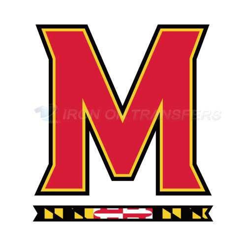 Maryland Terrapins Iron-on Stickers (Heat Transfers)NO.4988
