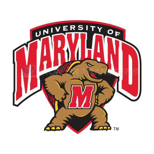 Maryland Terrapins Iron-on Stickers (Heat Transfers)NO.4989