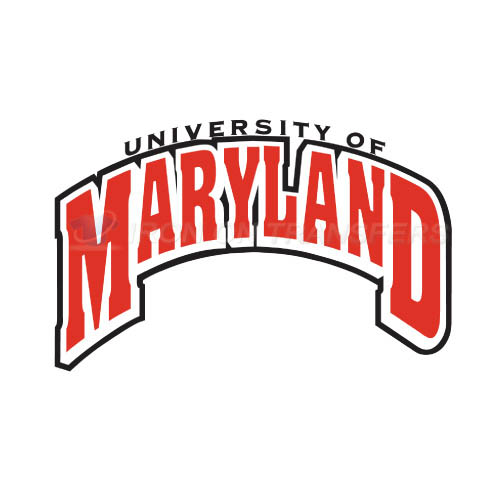 Maryland Terrapins Iron-on Stickers (Heat Transfers)NO.4990