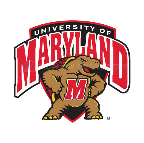 Maryland Terrapins Iron-on Stickers (Heat Transfers)NO.4991