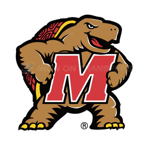 Maryland Terrapins Iron-on Stickers (Heat Transfers)NO.4992