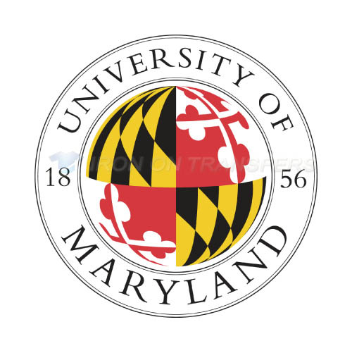 Maryland Terrapins Iron-on Stickers (Heat Transfers)NO.4993