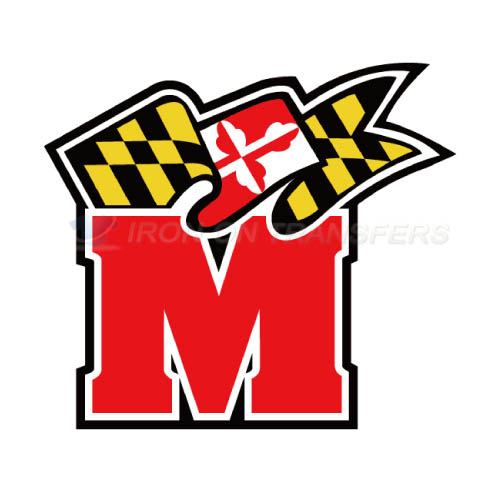 Maryland Terrapins Iron-on Stickers (Heat Transfers)NO.4994