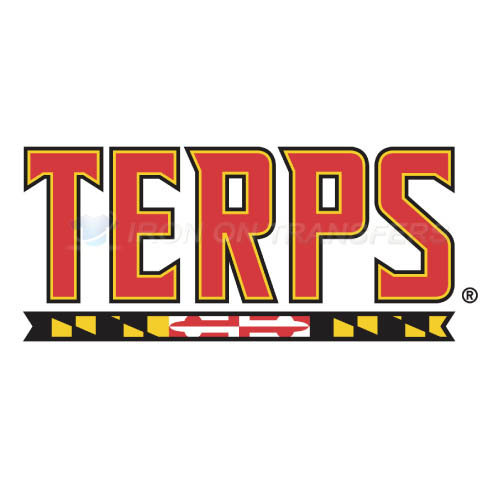 Maryland Terrapins Iron-on Stickers (Heat Transfers)NO.4995