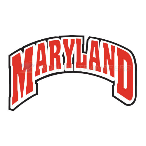 Maryland Terrapins Iron-on Stickers (Heat Transfers)NO.4997