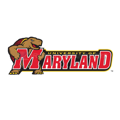 Maryland Terrapins Iron-on Stickers (Heat Transfers)NO.4998