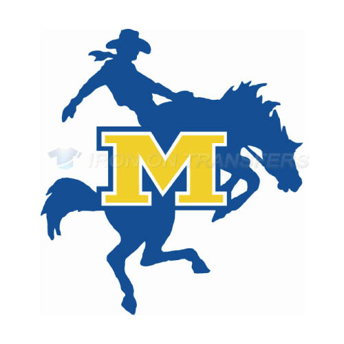 McNeese State Cowboys Iron-on Stickers (Heat Transfers)NO.5012
