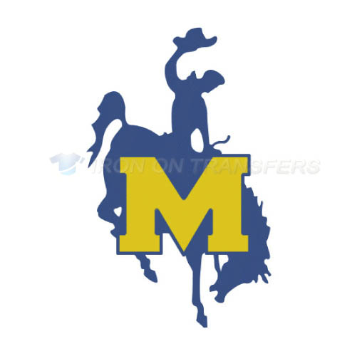 McNeese State Cowboys Iron-on Stickers (Heat Transfers)NO.5013
