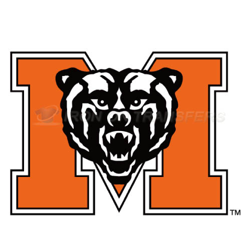 Mercer Bears Iron-on Stickers (Heat Transfers)NO.5023