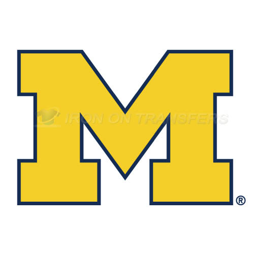 Michigan Wolverines Iron-on Stickers (Heat Transfers)NO.5065