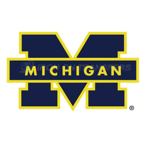 Michigan Wolverines Iron-on Stickers (Heat Transfers)NO.5067