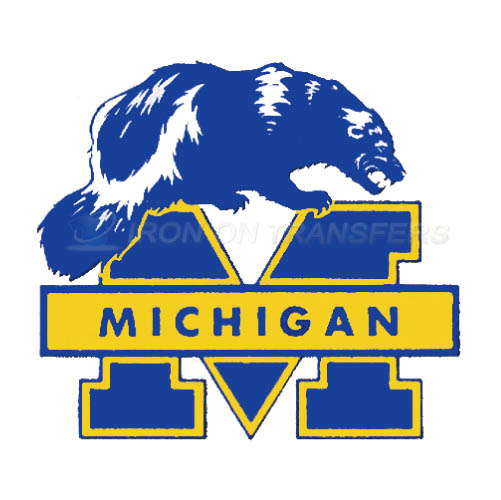 Michigan Wolverines Iron-on Stickers (Heat Transfers)NO.5068