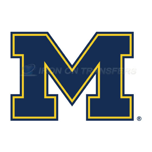 Michigan Wolverines Iron-on Stickers (Heat Transfers)NO.5069
