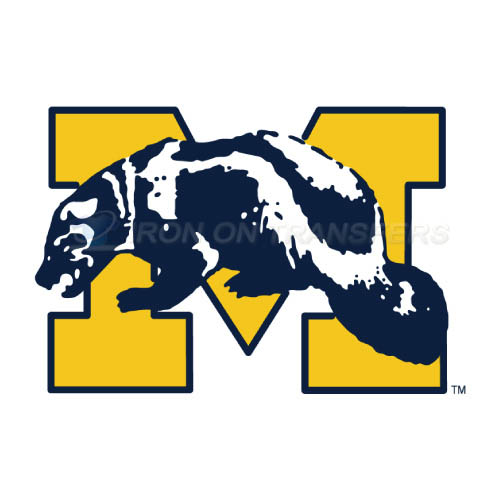 Michigan Wolverines Iron-on Stickers (Heat Transfers)NO.5070