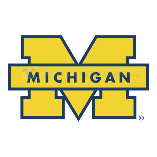 Michigan Wolverines Iron-on Stickers (Heat Transfers)NO.5071