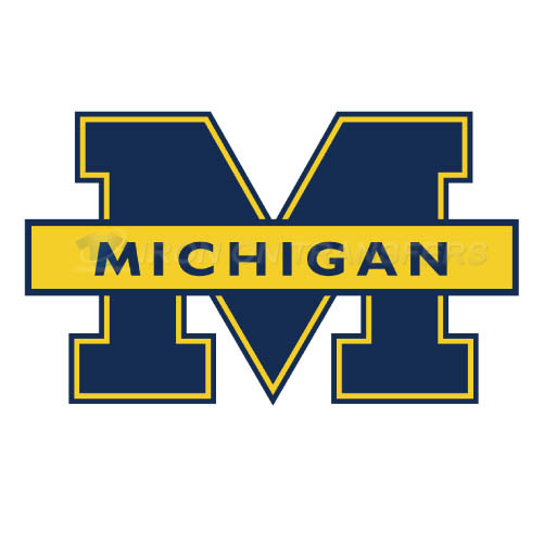 Michigan Wolverines Iron-on Stickers (Heat Transfers)NO.5074