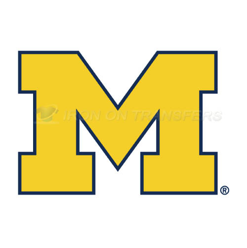 Michigan Wolverines Iron-on Stickers (Heat Transfers)NO.5075