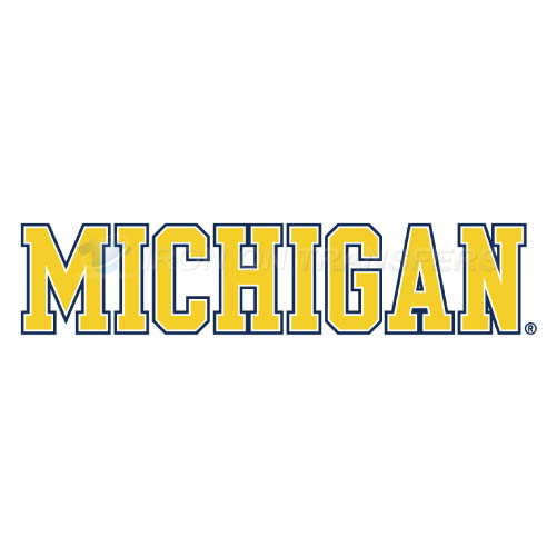 Michigan Wolverines Iron-on Stickers (Heat Transfers)NO.5077
