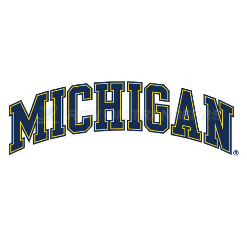 Michigan Wolverines Iron-on Stickers (Heat Transfers)NO.5078