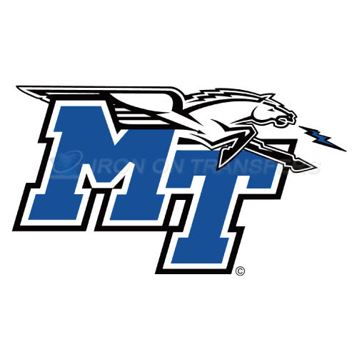 Middle Tennessee Blue Raiders Iron-on Stickers (Heat Transfers)NO.5080