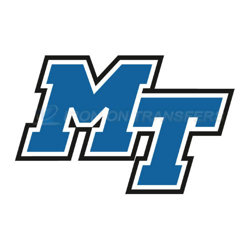 Middle Tennessee Blue Raiders Iron-on Stickers (Heat Transfers)NO.5086