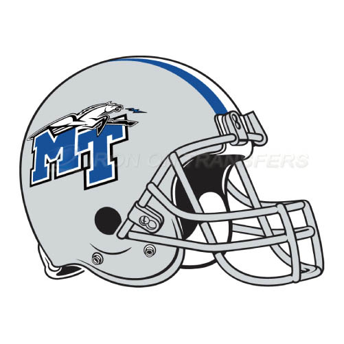 Middle Tennessee Blue Raiders Iron-on Stickers (Heat Transfers)NO.5087
