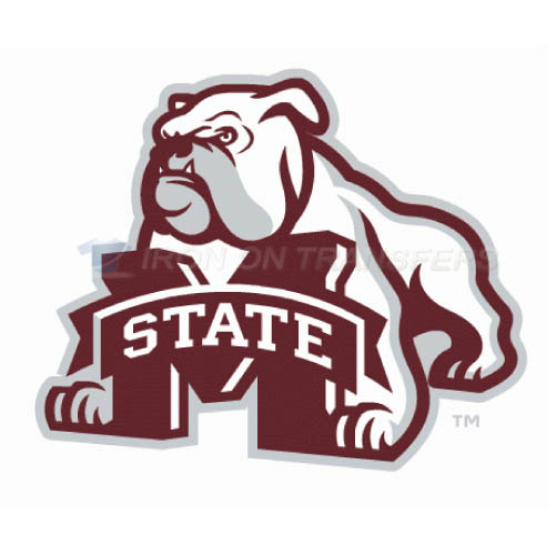 Mississippi State Bulldogs Iron-on Stickers (Heat Transfers)NO.5127