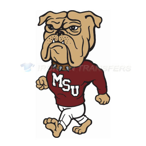 Mississippi State Bulldogs Iron-on Stickers (Heat Transfers)NO.5128