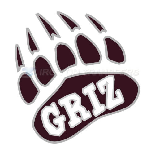 Montana Grizzlies Iron-on Stickers (Heat Transfers)NO.5170