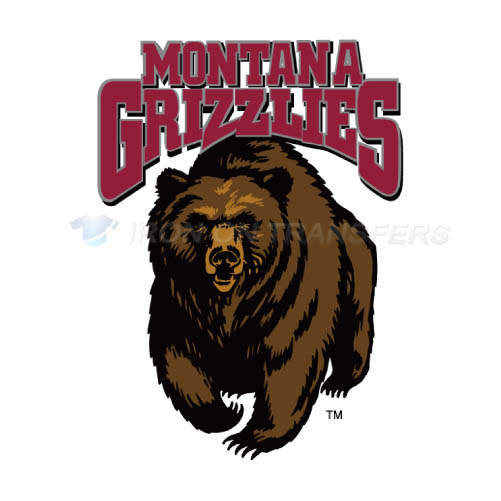 Montana Grizzlies Iron-on Stickers (Heat Transfers)NO.5174
