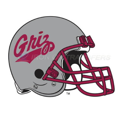 Montana Grizzlies Iron-on Stickers (Heat Transfers)NO.5176